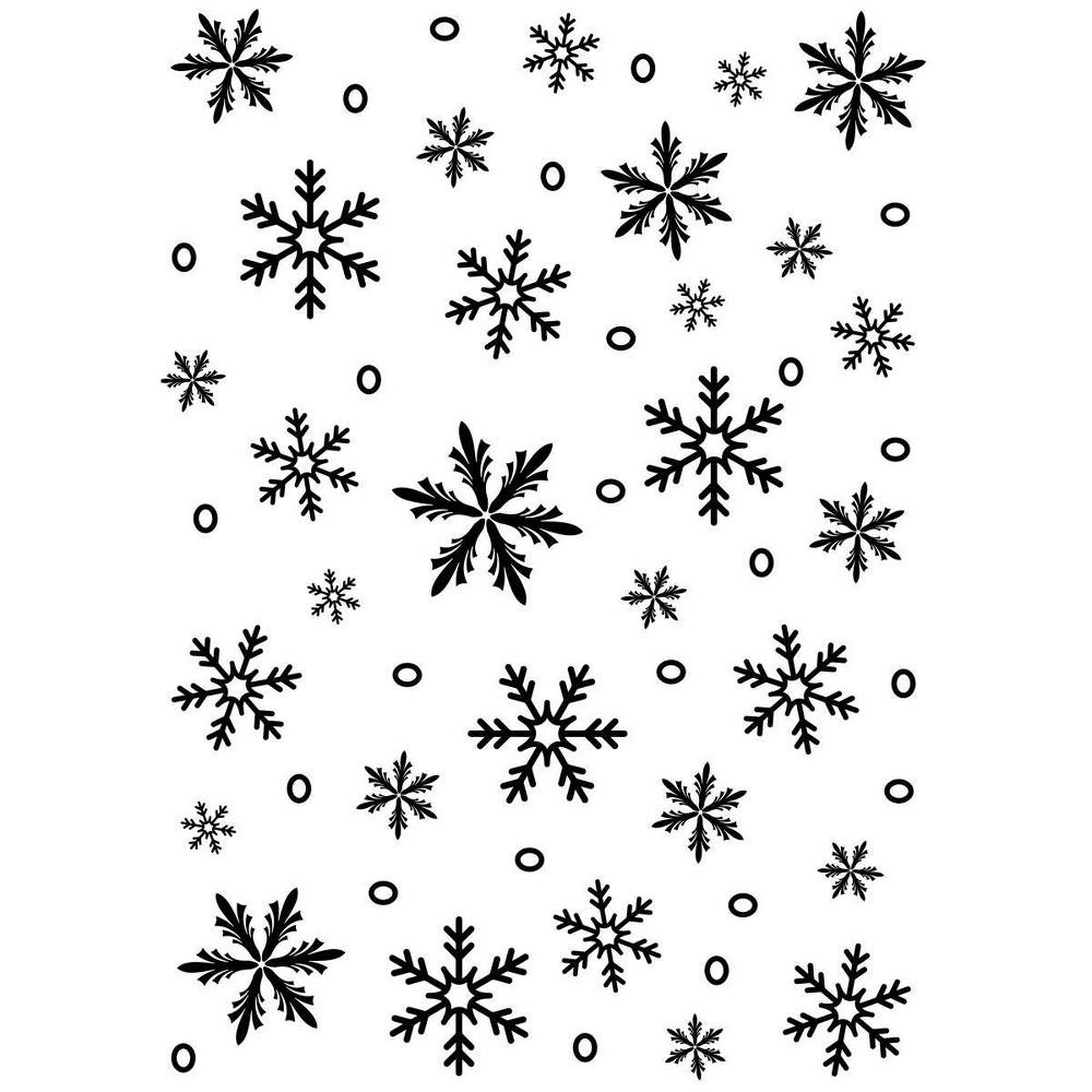 Image of Darice Embossing Folder - Snowflake