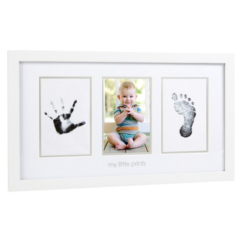 Pearhead Babyprints Photo Frame - White - image 1 of 4