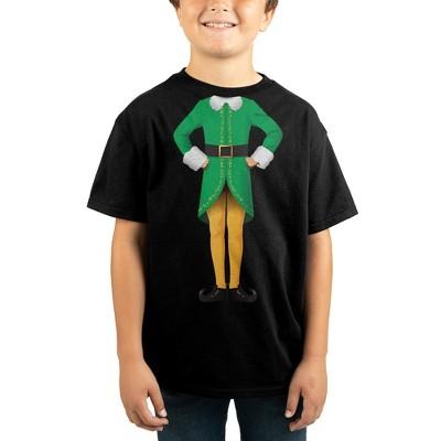 Elf Movie Youth Boys Graphic Tee Boys Buddy the Elf Shirt