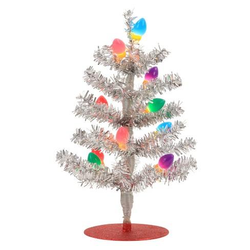 philips christmas led tinsel tree usb silver c bulbs - Christmas Tree Tinsel