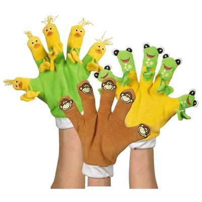 Kaplan Early Learning Hand Gloves - Set of 3 Storybook Favorites