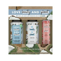 Love Beauty And Planet Coconut Water Shampoo + Conditioner + Dry Shampoo Gift Pack