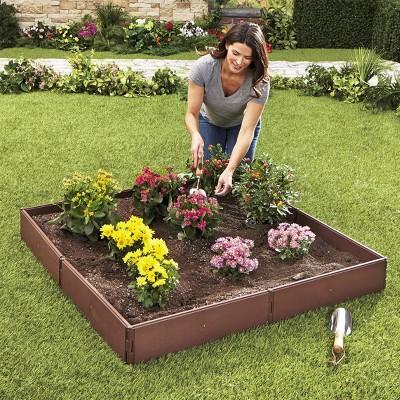 Lakeside Raised Garden Bed Set for Vegetable and Flower Gardening