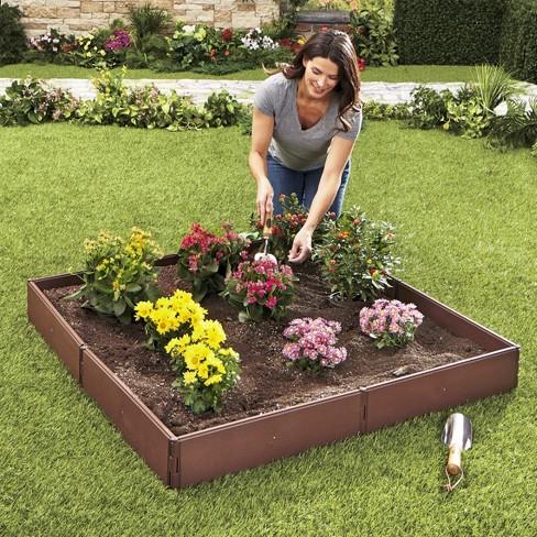 Lakeside Raised Garden Bed Set for Vegetable and Flower Gardening - image 1 of 4