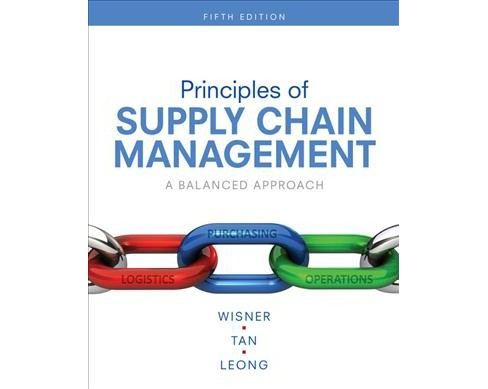 Principles of Supply Chain Management : A Balanced Approach -  (Hardcover) - image 1 of 1