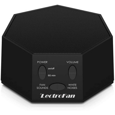 LectroFan Premium High Fidelity Noise Sound Machine with 20 Unique Non-Looping Fan and White Noise Sounds and Sleep Timer