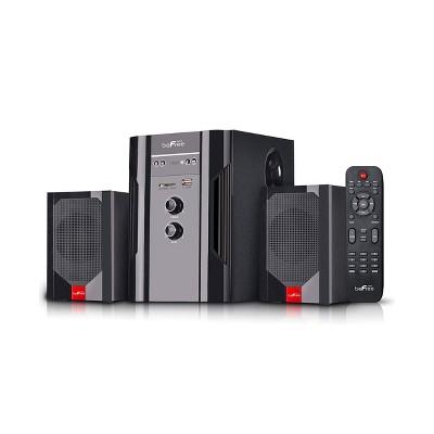 beFree Sound 2.1 Channel Bluetooth Surround Sound Speaker System in Black