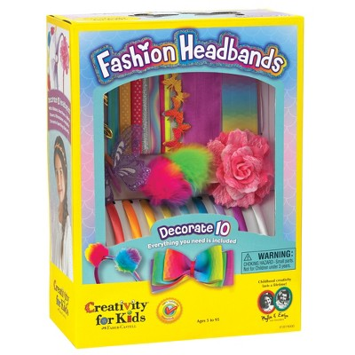 Creativity for Kids Decorate Your Own Fashion Headbands