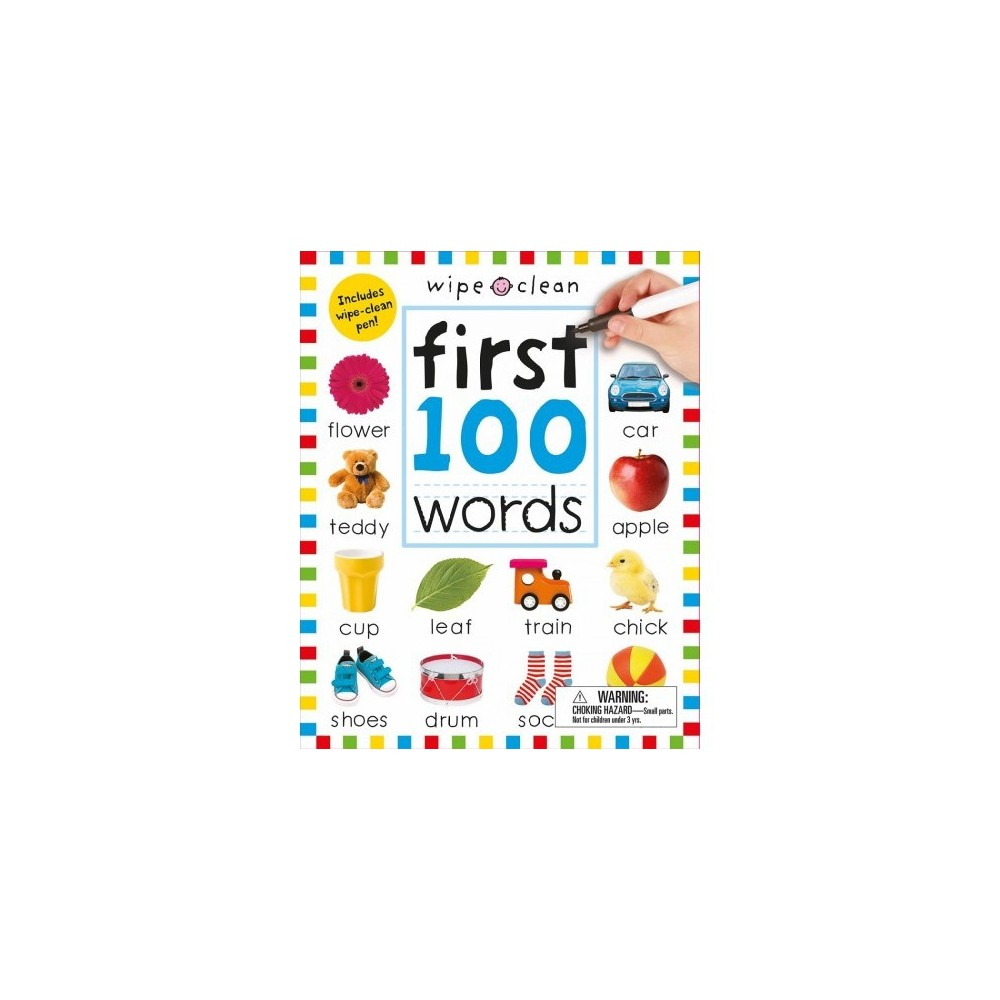 First 100 Words Wipe Clean 10/15/2017