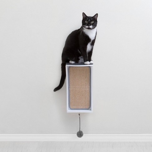 Hauspanther CATchall Cat Scratcher - White - image 1 of 4