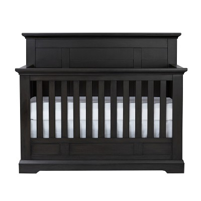 Centennial Chatham Flat Top 4-in-1 Convertible Crib - Slate