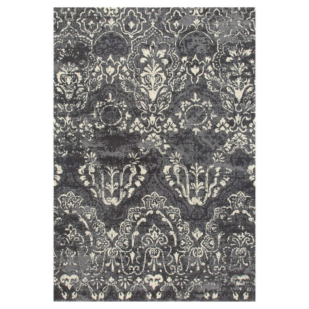 Gray Classic Woven Area Rug - (5'X8') - Art Carpet