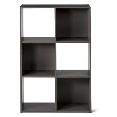 11  6-Cube Organizer Shelf Gray - Room Essentials™