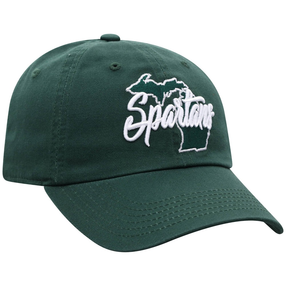 Ncaa Michigan State Spartans Women 39 S State Washed Cotton Hat