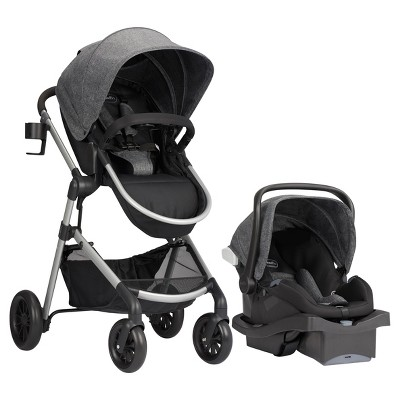 Evenflo Pivot Modular Travel System with ProSeries LiteMax Infant Car Seat - Aspen Skies