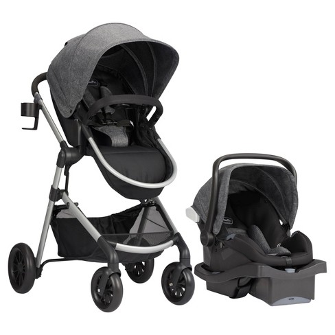 Evenflo Pivot Modular Travel System with ProSeries LiteMax Infant Car Seat - Aspen Skies - image 1 of 4
