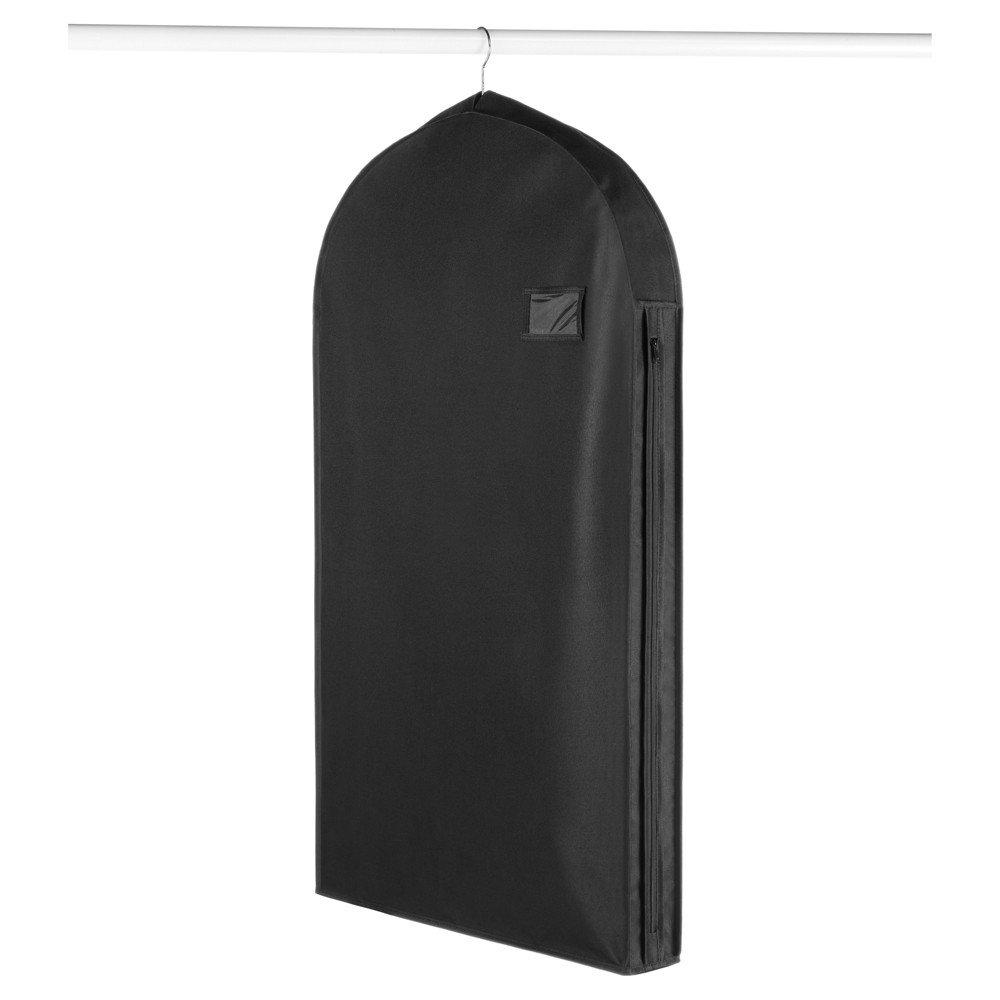 Image of Whitmor Deluxe Suit Garment Bag Black