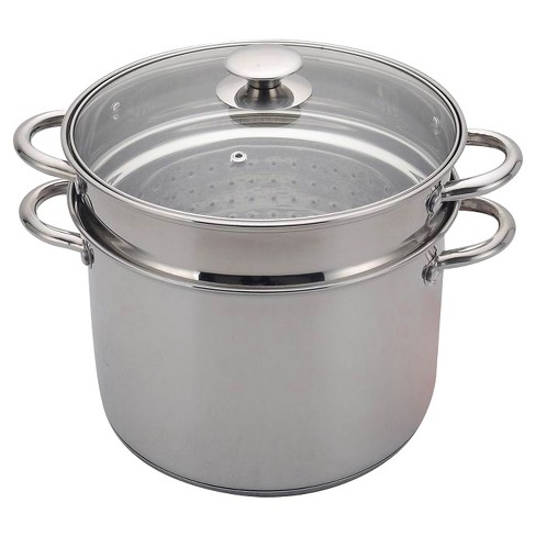 8 Quart Stainless Steel Multi Cooker