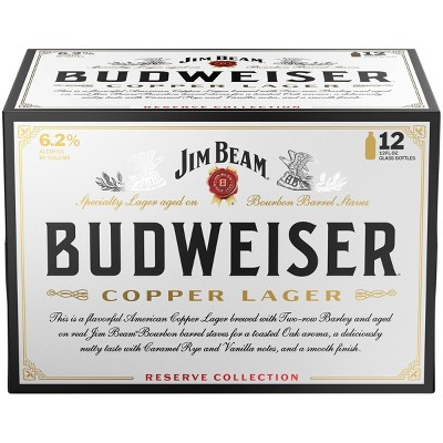Budweiser Reserve Copper Lager Beer - 12pk/12 fl oz Bottles