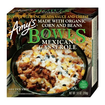 Amy's Frozen Mexican Casserole Bowl - 9.5oz