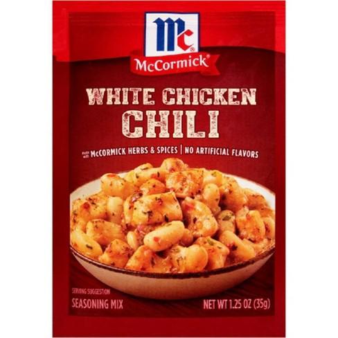McCormick White Chicken Chili Seasoning Mix 1.25 oz - image 1 of 4