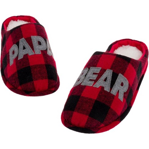FUNZIEZ! - Bear Family Holiday Slippers - image 1 of 4