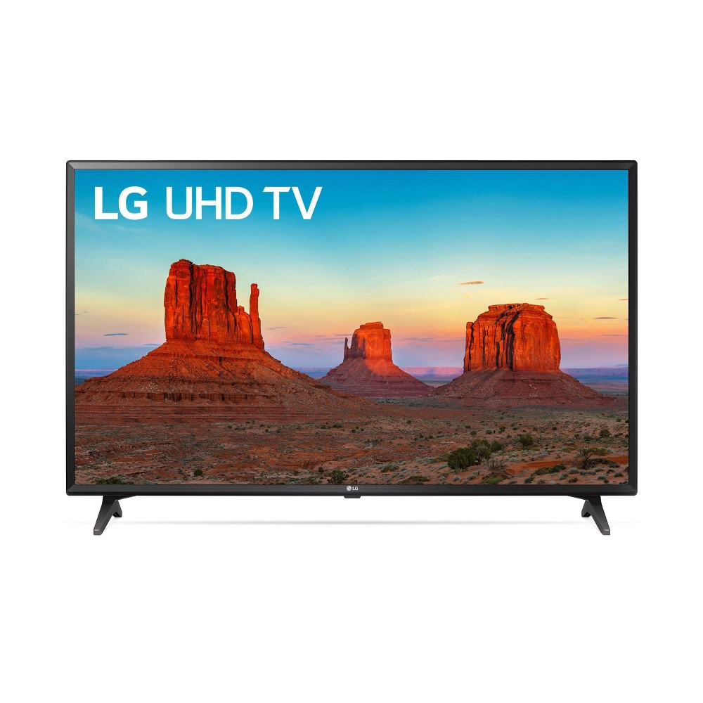 LG 49 4K Ultra HD Smart Led TV (49UK6090PUA), Black