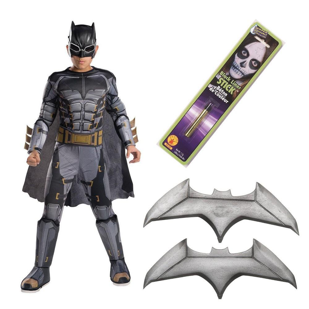 Kids' DC Comics Tactical Batman Deluxe Costume - L, Boy's, Multicolored
