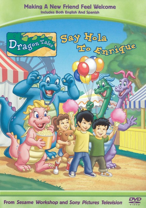 Dragon tales:Say hola to enrique (DVD) - image 1 of 1