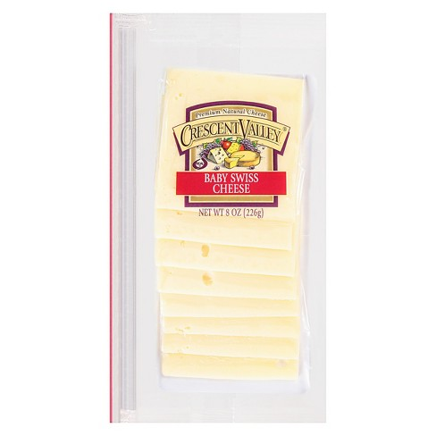 Crescent Valley Baby Swiss Cheese Shingle - 8oz - image 1 of 1