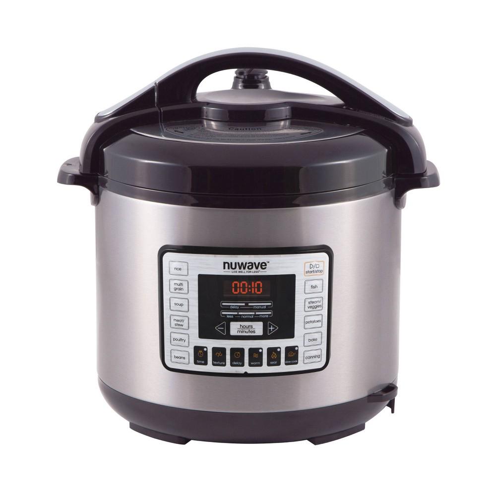 Image of NuWave 33201 8-Qt. Electric Pressure Cooker, Black