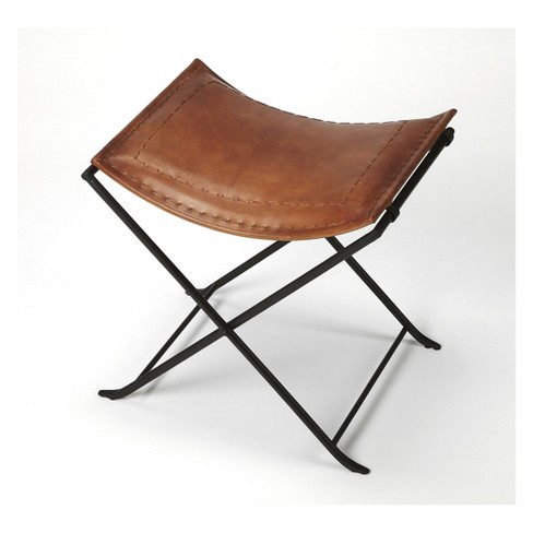 Butler Specialty Melton Stool Brown Leather - image 1 of 4
