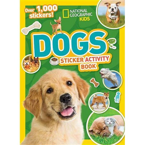 National Geographic Kids Dogs Sticker Book (Paperbook) (National Geographic (Paperback) - image 1 of 1