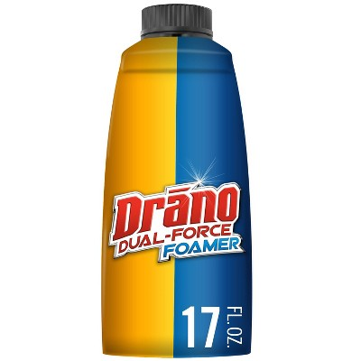 Drain Cleaners: Drano Dual-Force