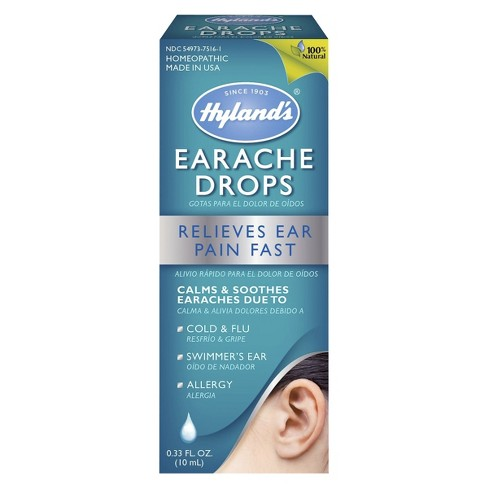 Hyland's Ear Ache Drops - 0.33oz - image 1 of 4