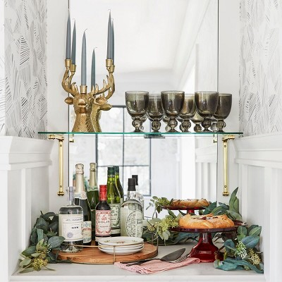 Holiday Themed Barware & Entertaining Decor Collection styled by Emily Henderson
