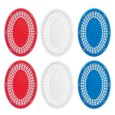 Serving Baskets - Red/White/Blue - Evergreen
