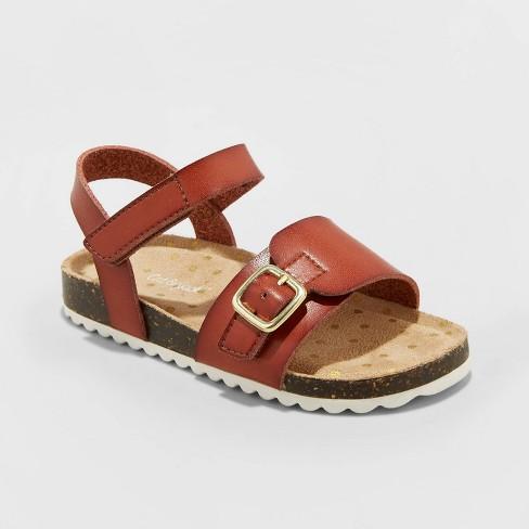 Toddler Girls' Belle Footbed Sandals - Cat & Jack™ - image 1 of 3