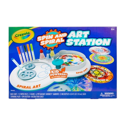 Crayola Spin & Spiral Art Station Activity Kit - image 1 of 4