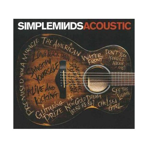 Simple Minds - Simple Minds Acoustic (CD) - image 1 of 1