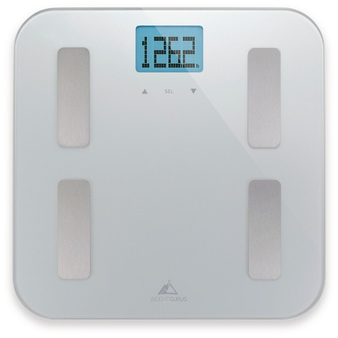 AppSync Smart Scale with Body Composition Silver - Weight Gurus - image 1 of 4