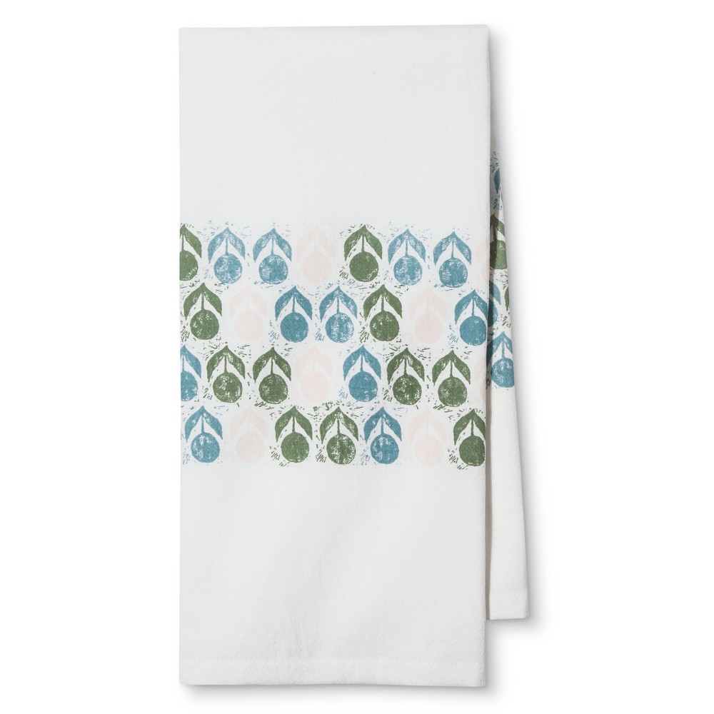 White Mug Kitchen Towel - Threshold This White Mug Kitchen Towel from Threshold is a must-have kitchen towel addition. Made from durable cotton, it features a plain weave type. Perfect for all kitchen usage, this handy kitchen towel is machine washable and easy to care for.