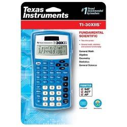 Texas Instruments 30XIIS Scientific Calculator - Blue