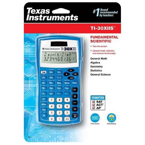 Texas Instruments 30XIIS Scientific Calculator - Blue - image 1 of 3