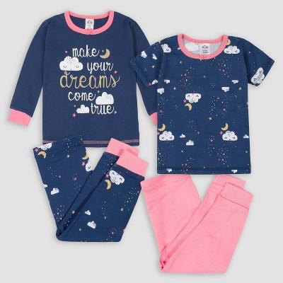 Gerber Baby Girls' 4pc Dream Pajama Set - 18M