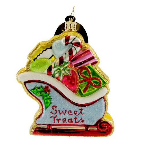 Christopher Radko Sleighful O'sweets Ornament Christmas Cookie - image 1 of 2