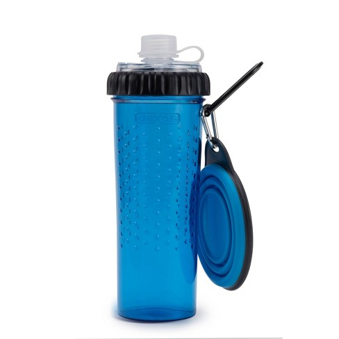 Dexas SnackDuo with Travel Cup - Blue - image 1 of 4