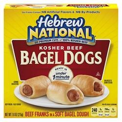 Hebrew National Frozen Bagel Dogs - 7.6oz