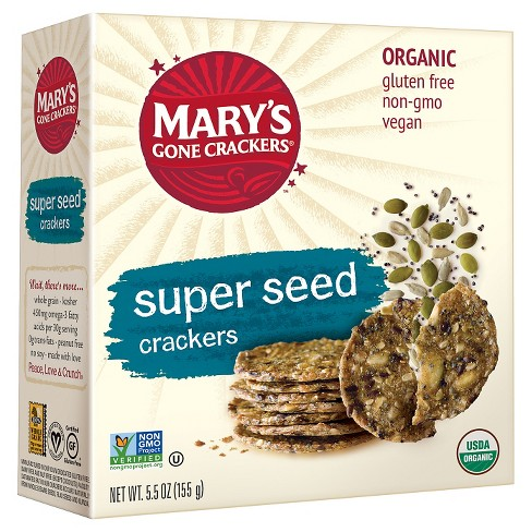Mary's Gone Crackers® Super Seed Organic Crackers - 5.5oz - image 1 of 2