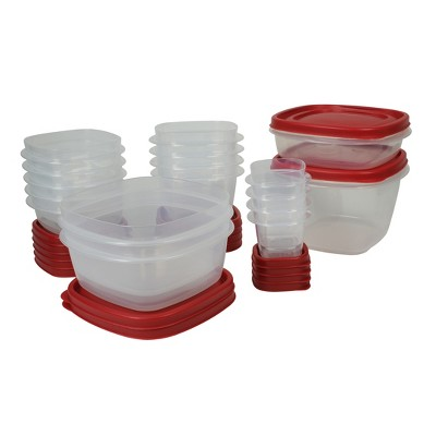 Rubbermaid 34pc Easy Find Lids Food Storage and Organization Containers